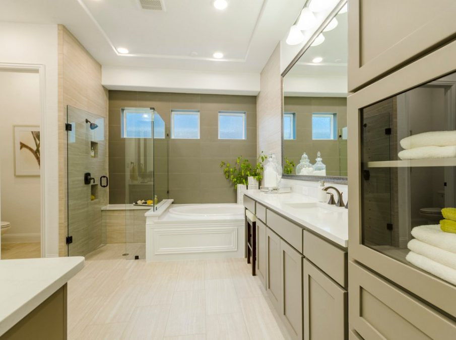 450 Maddison Master Bath and Shower