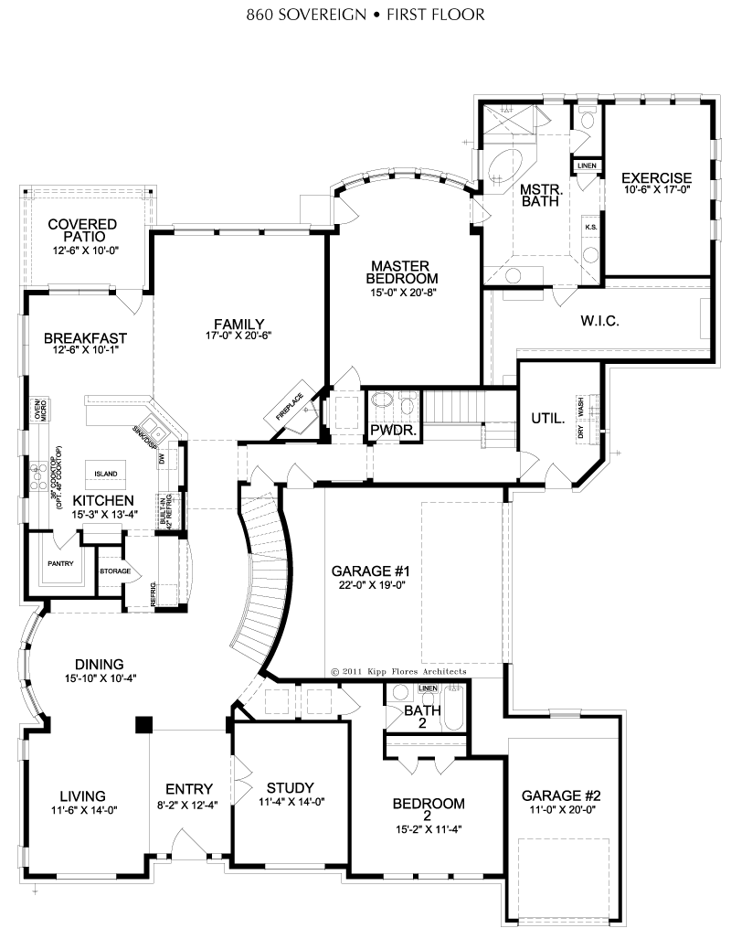 860 Sovereign Collection – Sovereign Homes Floor Plans