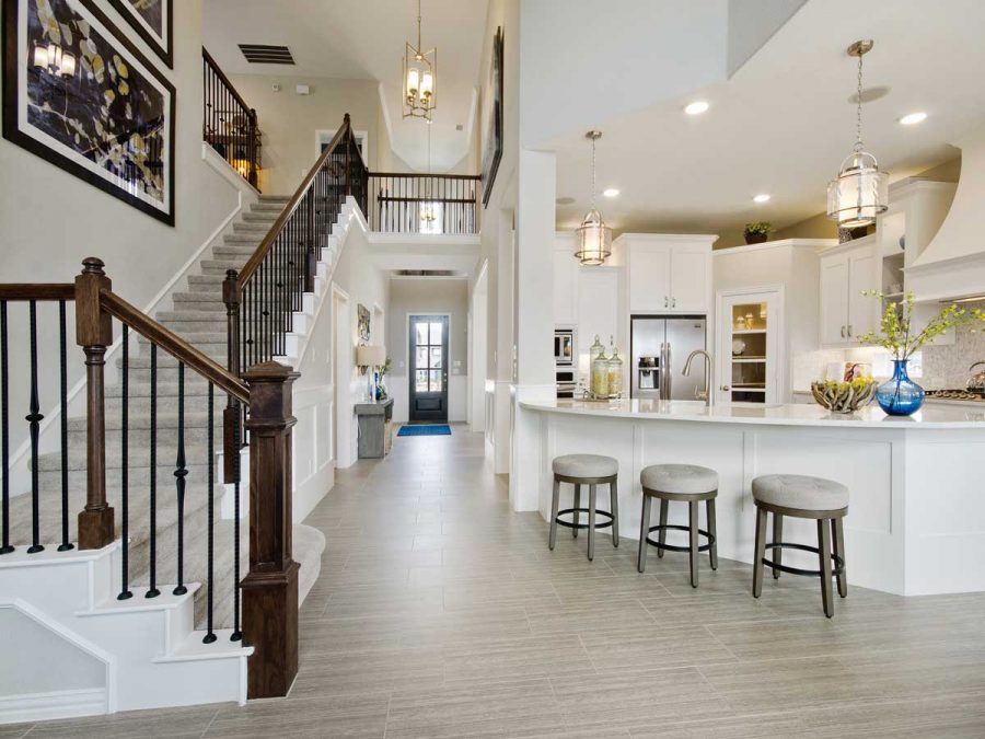 Staircase Decorating Tips for New Homes in Frisco | Landon Homes