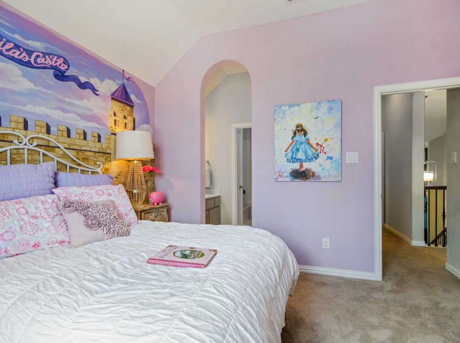 4655 Wellington Landon Homes Decorated Girls Bedroom Princess Theme