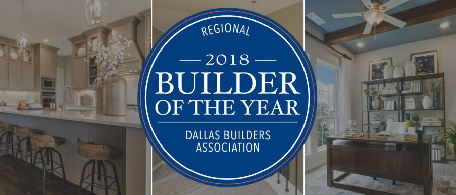 Landon Homes 2018 Builder of the Year